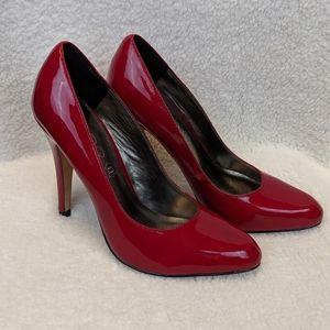 ALDO Red High Heel Pumps Size 5 (35)